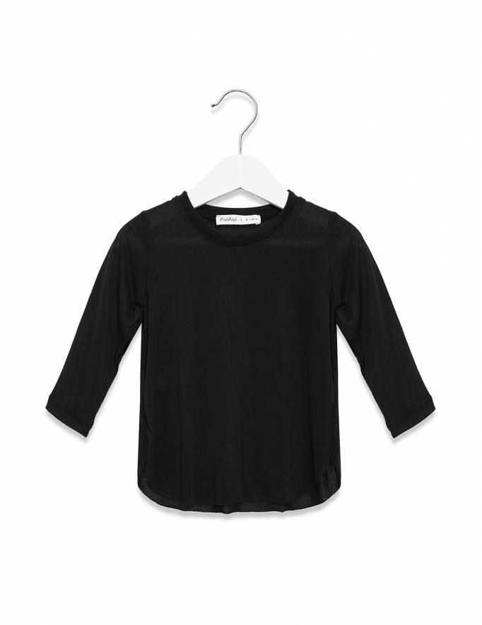 Alef Alef | אלף אלף - בגדי מעצבים | חולצת אליפסה שחור