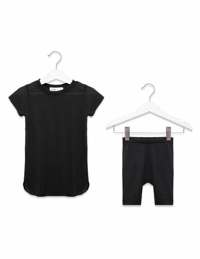 Alef Alef | אלף אלף - בגדי מעצבים | שמלת אנה שחור