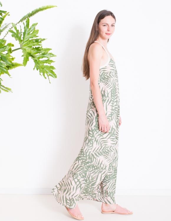 Alef Alef   אלף אלף - בגדי מעצבים   שמלת TULIP ורוד דפוס
