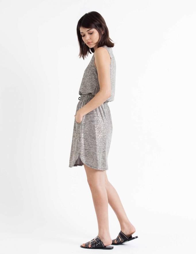 Alef Alef | אלף אלף - בגדי מעצבים | חצאית Papel זהב
