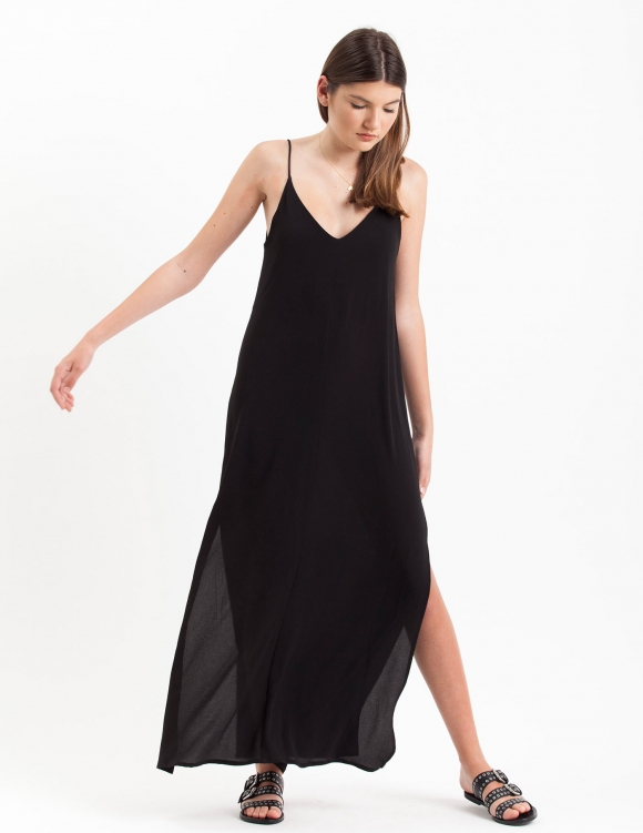 Alef Alef | אלף אלף - בגדי מעצבים | שמלת Volo שחור