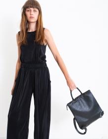 Alef Alef   אלף אלף - בגדי מעצבים   תיק ארי שחור LadyBird