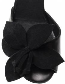 Alef Alef   אלף אלף - בגדי מעצבים   עקב פרח שחור