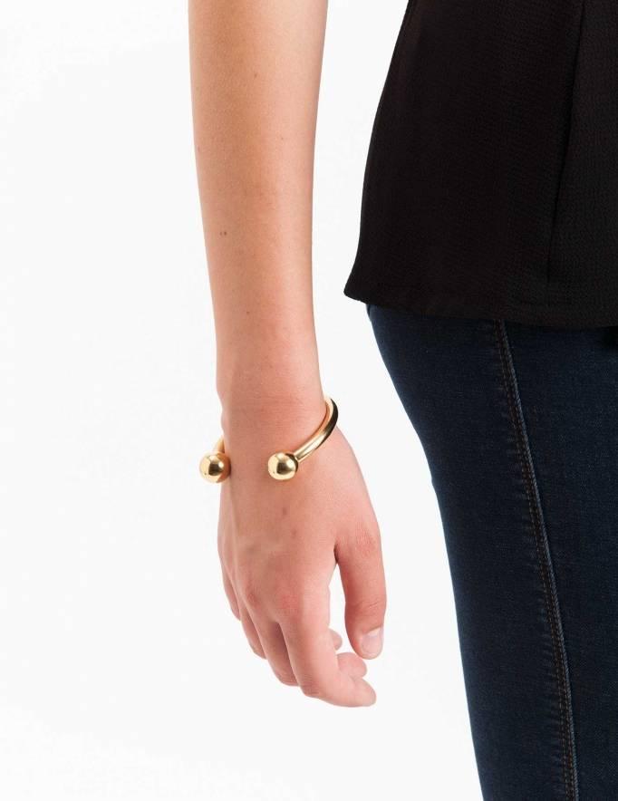Alef Alef | אלף אלף - בגדי מעצבים | צמיד קרולינה זהב Calderona