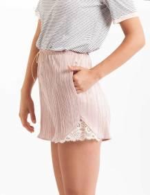 Alef Alef | אלף אלף - בגדי מעצבים | מכנסי Furo ורוד פליסה
