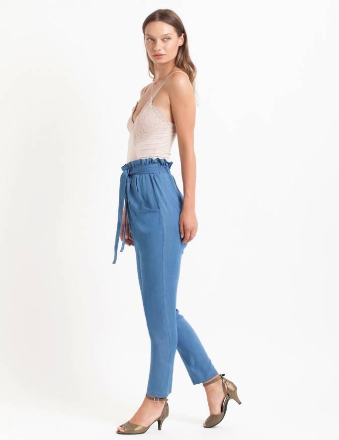Alef Alef   אלף אלף - בגדי מעצבים   מכנסי Mirandum ג'ינס