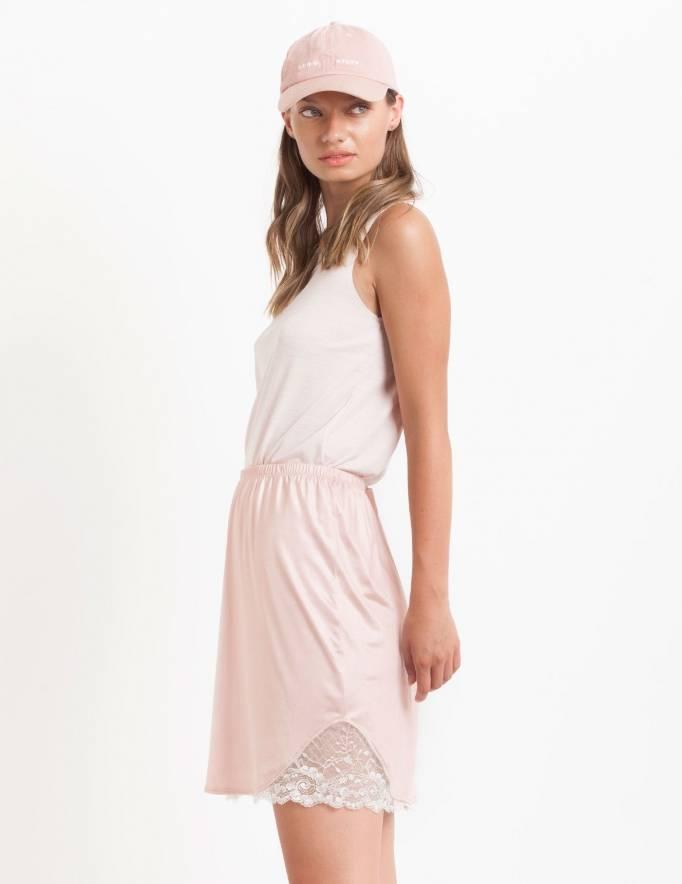 Alef Alef | אלף אלף - בגדי מעצבים | חצאית Suki ורוד בהיר