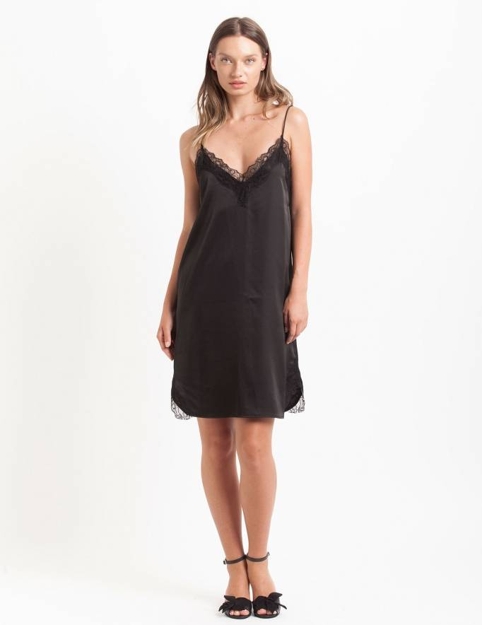 Alef Alef | אלף אלף - בגדי מעצבים | שמלת Palla שחור