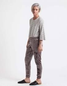 Alef Alef | אלף אלף - בגדי מעצבים | מכנסי Ray אפור בהיר