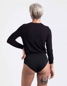 Alef Alef | אלף אלף - בגדי מעצבים | בגד גוף Marnie שחור