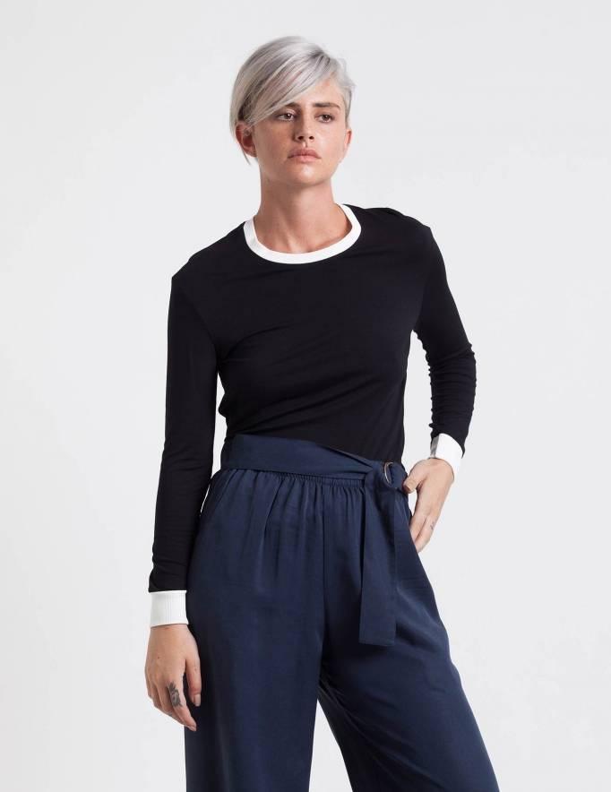 Alef Alef | אלף אלף - בגדי מעצבים | מכנסי Andrew כחול