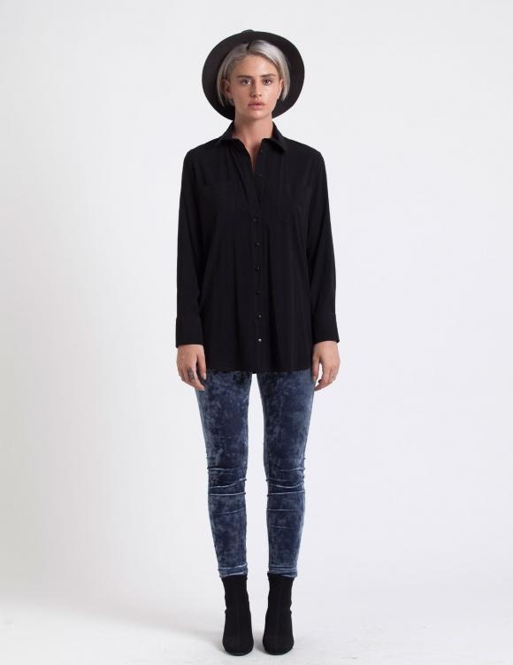 Alef Alef | אלף אלף - בגדי מעצבים | חולצת Alex שחור