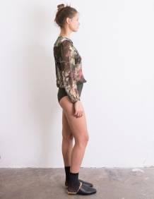 Alef Alef   אלף אלף - בגדי מעצבים   בגד גוף Aidy הדפס צבעוני