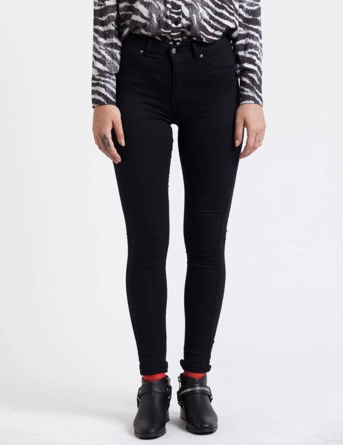Alef Alef | אלף אלף - בגדי מעצבים | ג'ינס Dr. Denim Plenty שחור