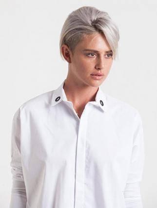 אלף אלף - בגדי מעצבים | מעיל Caroline ברונזה - Alef Alef | אלף אלף