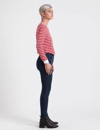 Alef Alef   אלף אלף - בגדי מעצבים   ג'ינס Dr. Denim Lexy כחול כהה