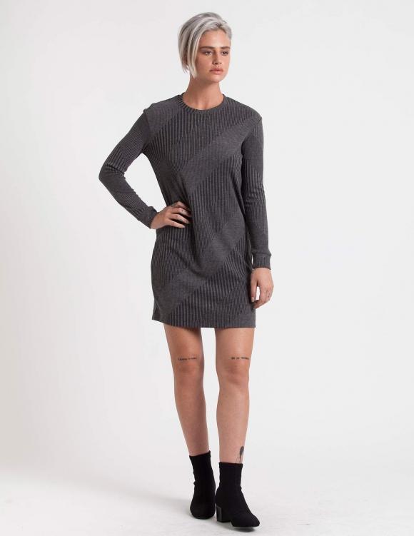 Alef Alef | אלף אלף - בגדי מעצבים | שמלת Becky אפור