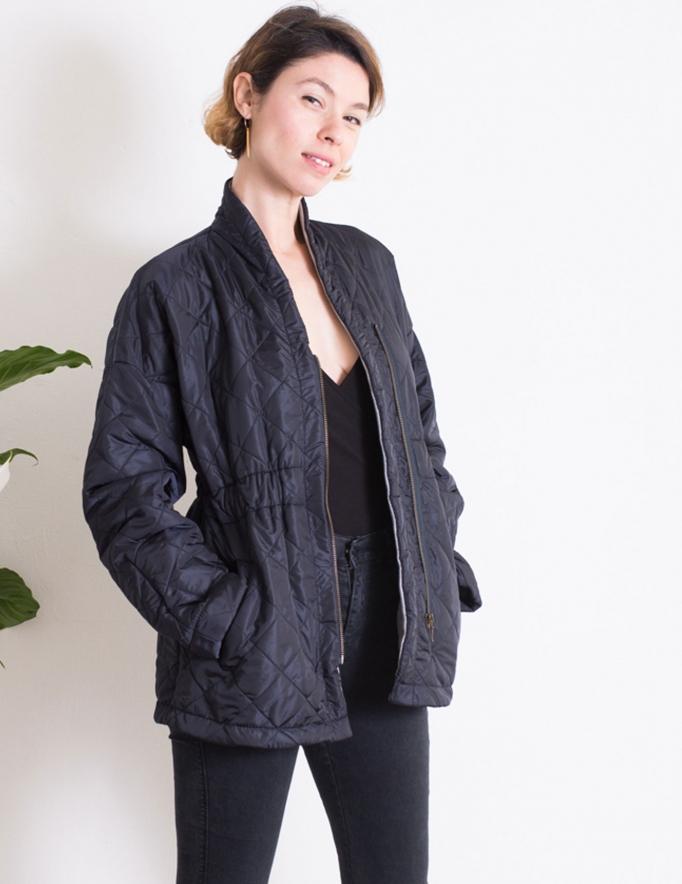 Alef Alef | אלף אלף - בגדי מעצבים | מעיל Christopher נייבי