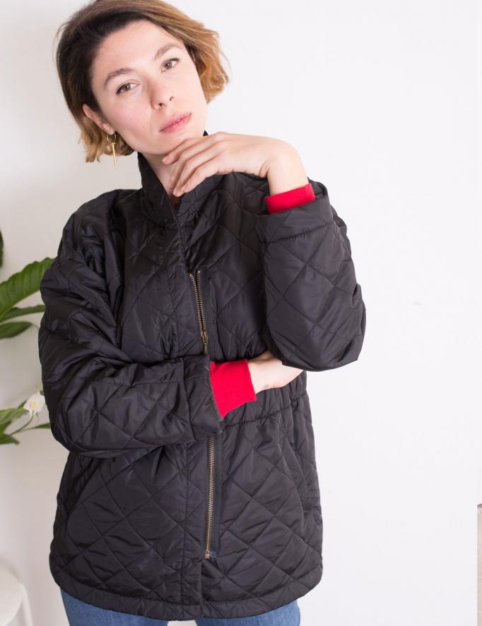 Alef Alef | אלף אלף - בגדי מעצבים | מעיל Christopher שחור