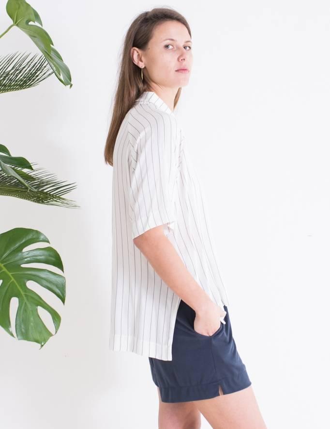 Alef Alef | אלף אלף - בגדי מעצבים | Sample | מכנסי Olive כחול