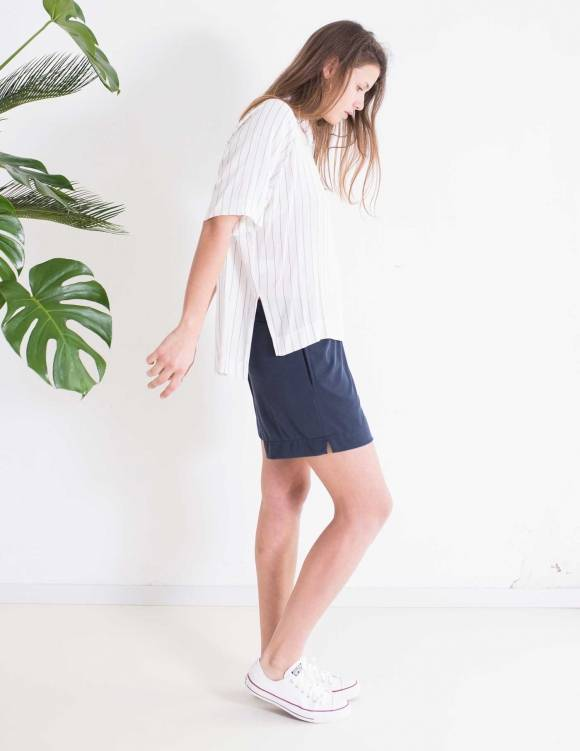 Alef Alef | אלף אלף - בגדי מעצבים | חולצת Bay פסים
