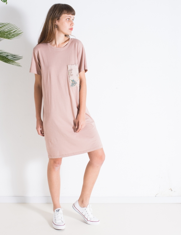 Alef Alef | אלף אלף - בגדי מעצבים | שמלת Lovebird ורוד