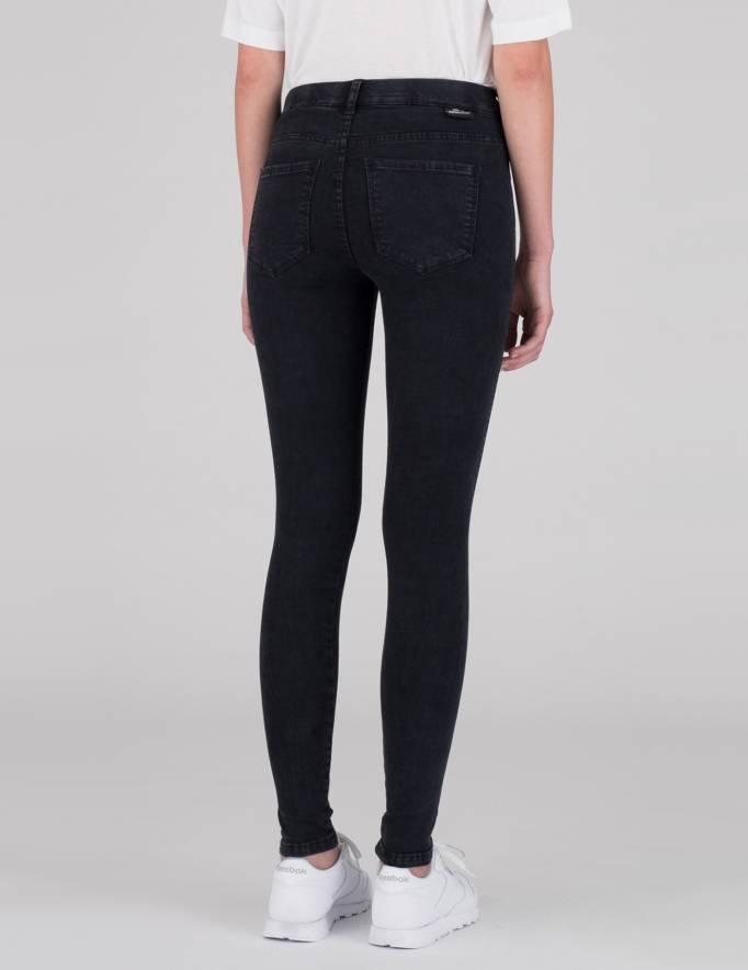 Alef Alef | אלף אלף - בגדי מעצבים | ג'ינס Dr. Denim Lexy שחור משופשף