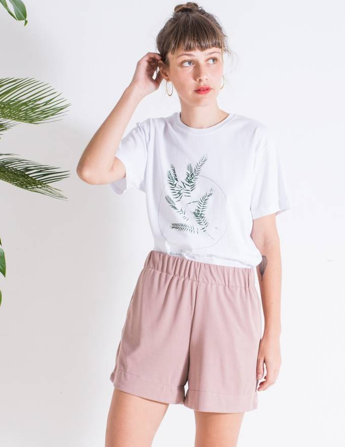 Alef Alef | אלף אלף - בגדי מעצבים | Sample | מכנסי Olive פודרה