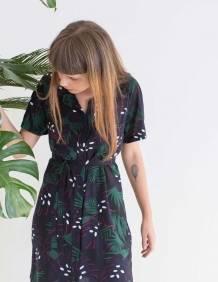 Alef Alef | אלף אלף - בגדי מעצבים | שמלת DALIA הדפס פרחים