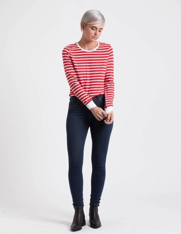 Alef Alef | אלף אלף - בגדי מעצבים | ג'ינס Dr. Denim Lexy כחול משופשף