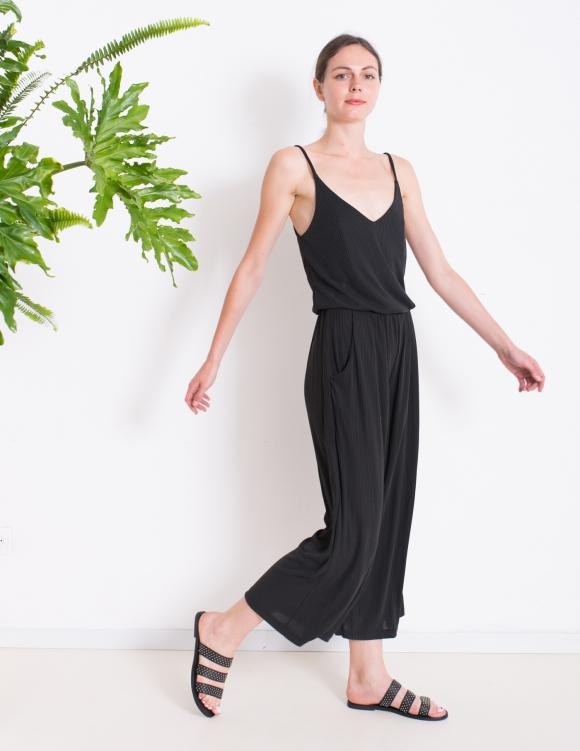 Alef Alef   אלף אלף - בגדי מעצבים   Sample   אוברול LILY  שחור
