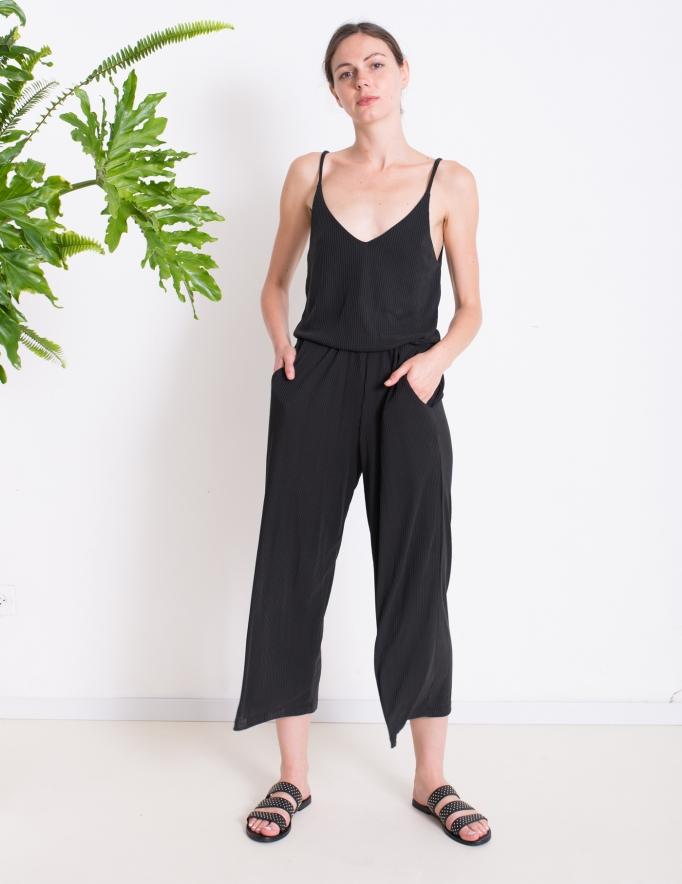 Alef Alef | אלף אלף - בגדי מעצבים | Sample | אוברול LILY  שחור