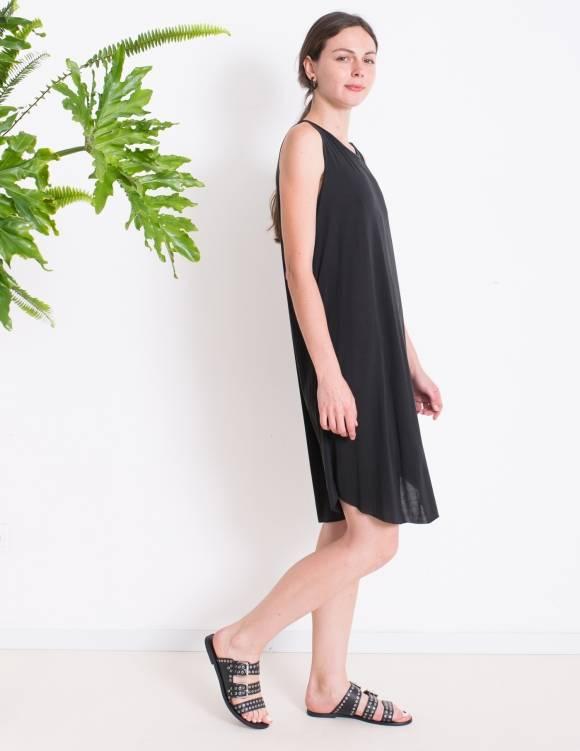 Alef Alef | אלף אלף - בגדי מעצבים | Sample | שמלת ROSEMARY שחור פחם