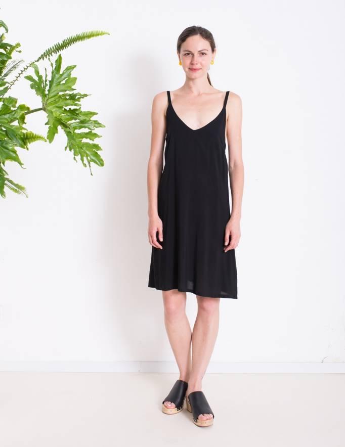 Alef Alef | אלף אלף - בגדי מעצבים | שמלת ROSE שחור