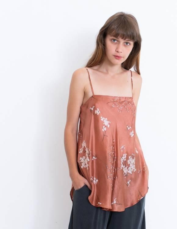 Alef Alef   אלף אלף - בגדי מעצבים   גופית JASMINE חמרה פרחים