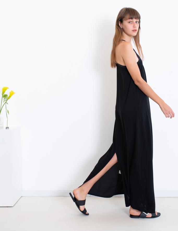 Alef Alef | אלף אלף - בגדי מעצבים | שמלת TULIP שחור