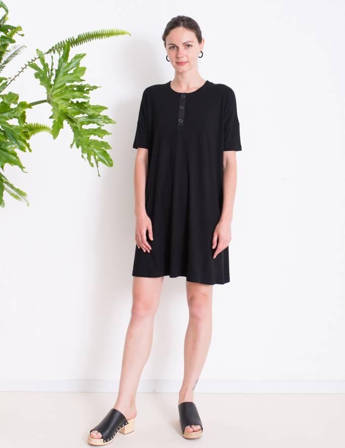 Alef Alef | אלף אלף - בגדי מעצבים | שמלת DAISY שחור
