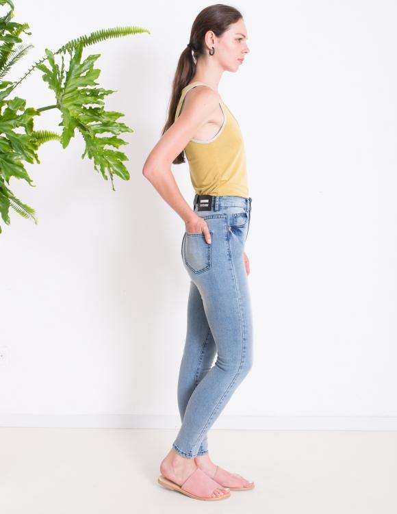 Alef Alef | אלף אלף - בגדי מעצבים | ג'ינס Dr. Denim CROPA CABANA כחול בהיר