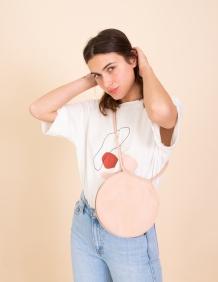 Alef Alef   אלף אלף - בגדי מעצבים   תיק Lady Bird גולי ניוד