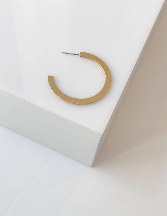 Alef Alef | אלף אלף - בגדי מעצבים | עגיל EF SNAP  זהב