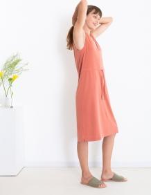Alef Alef   אלף אלף - בגדי מעצבים   שמלת Bell חמרה
