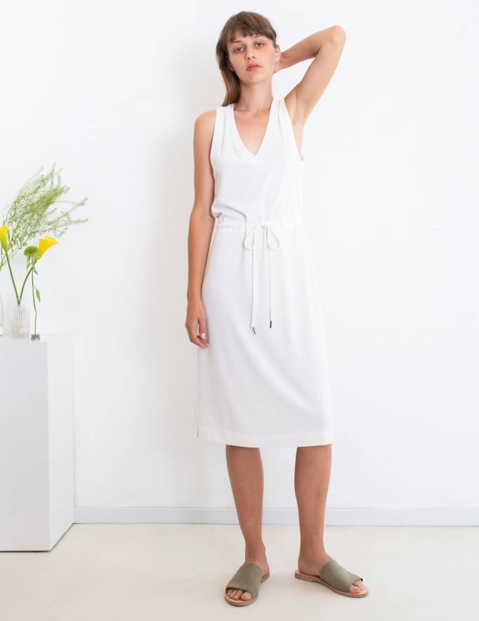 Alef Alef | אלף אלף - בגדי מעצבים | שמלת Bell לבן