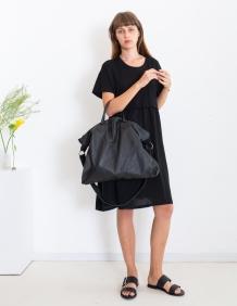 Alef Alef | אלף אלף - בגדי מעצבים | תיק אוברסייז שחור LadyBird