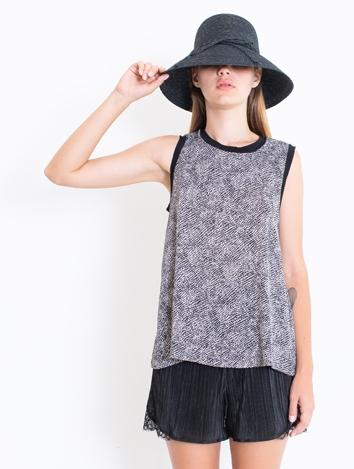 אלף אלף - בגדי מעצבים | שמלת Becky פסים ריקמה - Alef Alef | אלף אלף