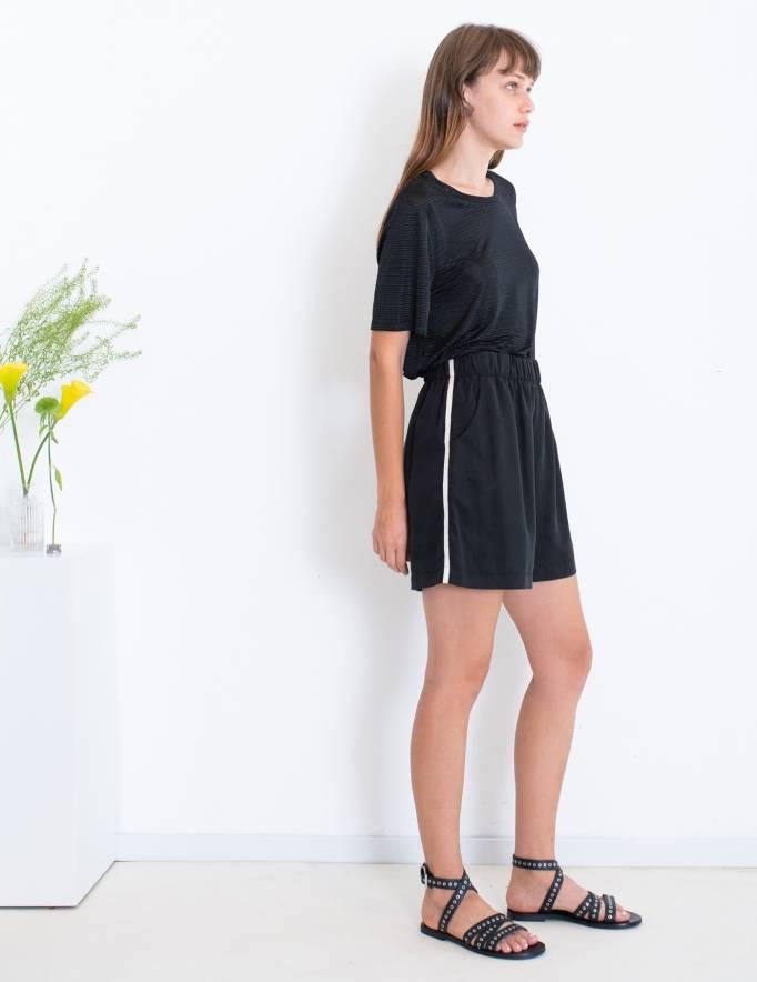 Alef Alef | אלף אלף - בגדי מעצבים | Sample | מכנסי DURIAN שחור