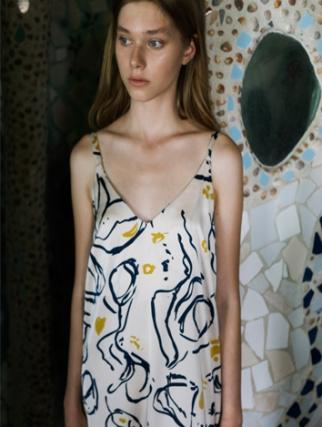 אלף אלף - בגדי מעצבים | חולצת Bay ורוד הדפס פרחים - Alef Alef | אלף אלף