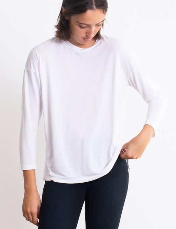 Alef Alef | אלף אלף - בגדי מעצבים | חולצת Damien לבן