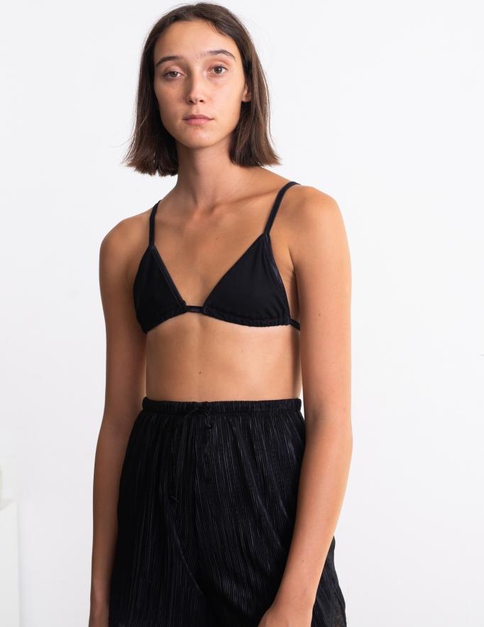 Alef Alef | אלף אלף - בגדי מעצבים | חזיית Flo  שחור