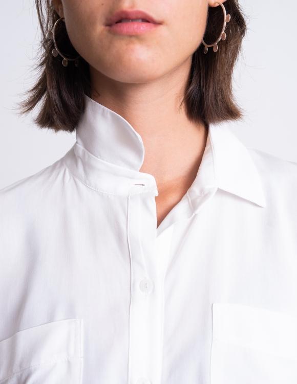 Alef Alef | אלף אלף - בגדי מעצבים | חולצת Margo לבן
