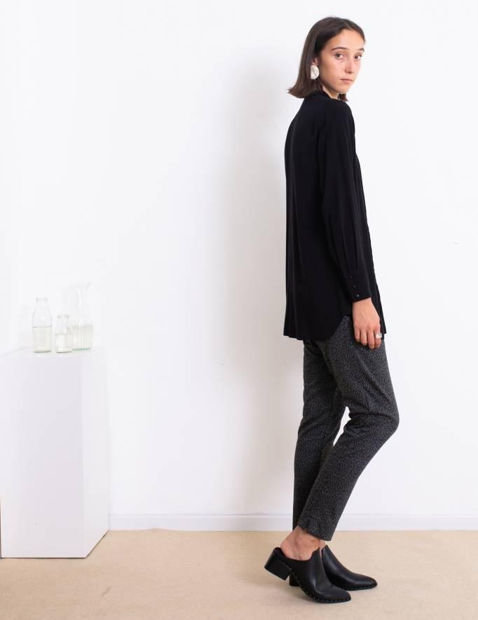 Alef Alef | אלף אלף - בגדי מעצבים | חולצת Margo שחור